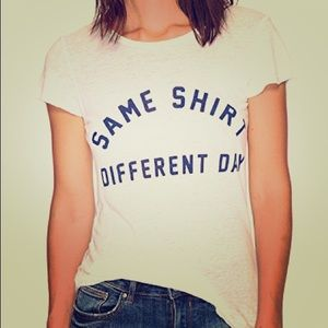 "Project Social T Sz Med ""Same Shirt Different Day"""